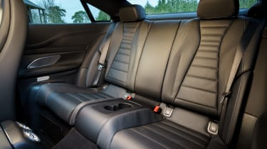 Mercedes E 350 d - back seats
