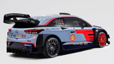 Hyundai i20 WRC - rear