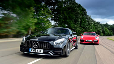 Mercedes-AMG GT C vs Porsche 911 Turbo - head-to-head