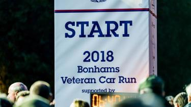 London to Brighton Veteran Car Run  -  logo