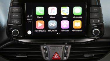 New Hyundai i30 2017 screen