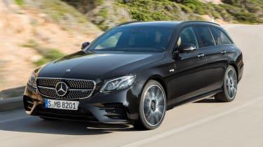 Mercedes-AMG E 43 Estate - front cornering
