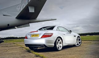 Mercedes SLK 200 rear static