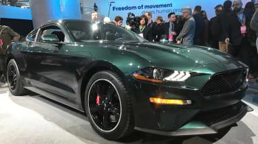 Ford Bullitt Mustang GT - Detroit front static