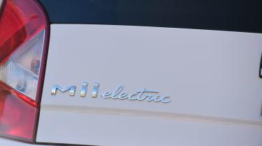 SEAT Mii electric - long termer first report rear badge