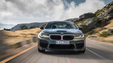 BMW M5 CS - full front