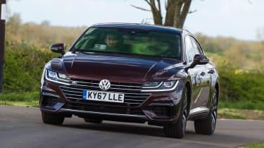Volkswagen Arteon - front action