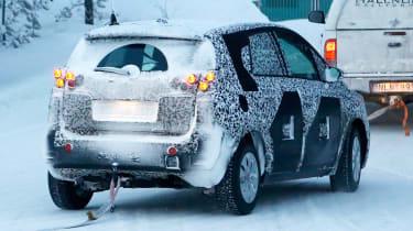 Opel Meriva 2017 rear side