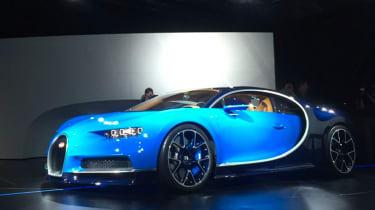 Bugatti Chiron at Geneva Motor Show