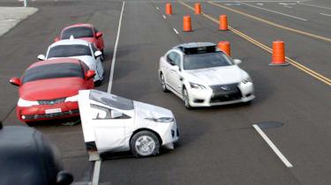 Toyota Guardian - crash avoidance
