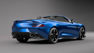 Aston Martin Vanquish Volante rear quarter