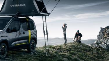 Peugeot Rifter 4x4 Concept - camping