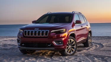 Jeep Cherokee - front static