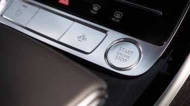 Audi A8 - start/stop button