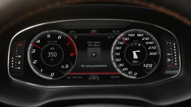 Cupra Ateca - virtual dials
