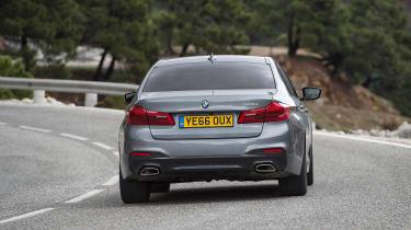 BMW 520d M Sport - rear cornering