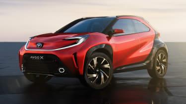 Toyota Aygo X prototype - front static