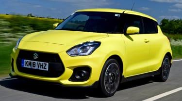 Suzuki Swift Sport yellow