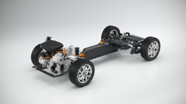 Volvo 40.1/40.2 concept CMA platform