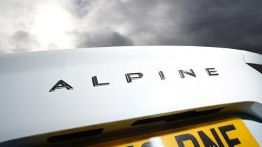 Alpine A110 Pure - rear badge