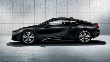 BMW i8 protonic frozen black side