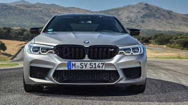 BMW M5 Competition - full front static