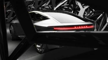 Nissan IM concept - rear light