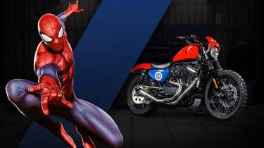 Harley Davidson Marvel Super Hero Customs - Spiderman Agility