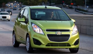 Chevrolet Spark front tracking