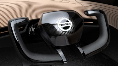 Nissan IMx concept - steering wheel