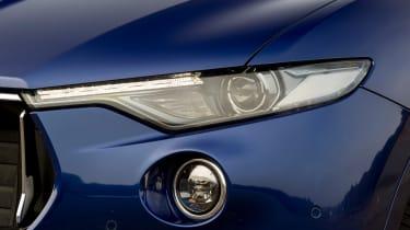 Maserati Levante used review - headlight
