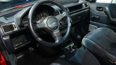 Ford Fiesta Mk3 - XR2i interior