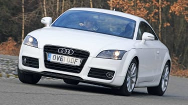 Audi TT TFSI front cornering
