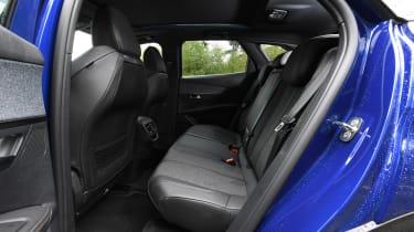 Peugeot 3008 - rear seats