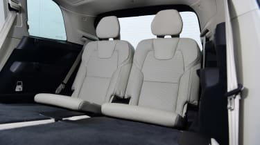 Volvo XC90 - back seats