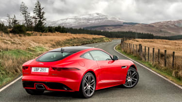 Jaguar F-Type 2.0 T rear static