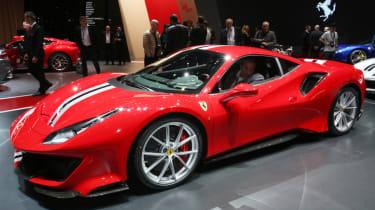 New Ferrari 488 Pista Geneva