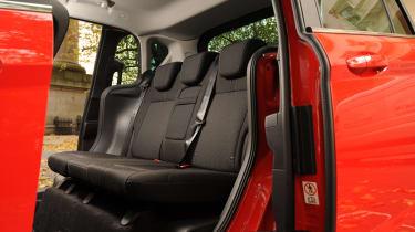 Ford B-MAX 1.0 EcoBoost rear seats