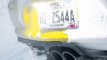 Porsche Cayman S exhaust
