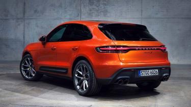 Porsche Macan S - rear