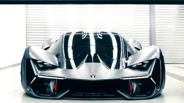 Lamborghini Terzo Millennio - full front