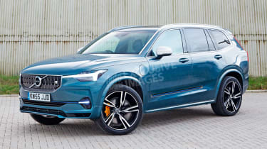 Volvo XC90 - front (watermarked)