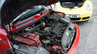 MINI Cooper vs VW Beetle - modern classic engines