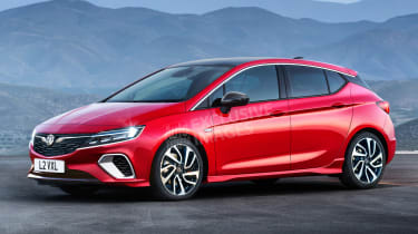 Vauxhall Astra exclusive image