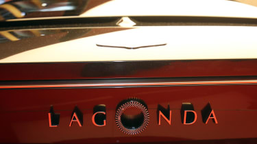 Aston Martin Lagonda Vision concept - Geneva rear detail