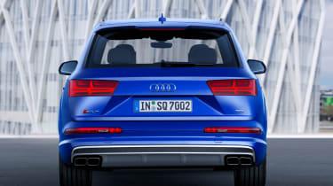 Audi SQ7 blue - rear