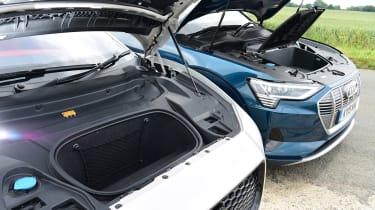Audi e-tron vs Jaguar I-Pace - head-to-head