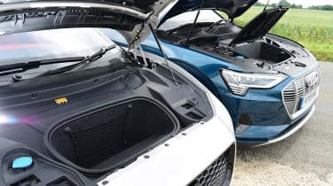 Audi e-tron vs Jaguar I-Pace - head-to-head