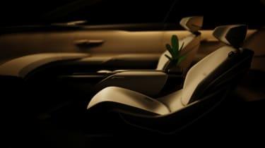 Audi Grand Sphere concept - seat teaser