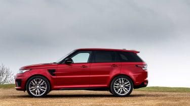 Range Rover Sport SVR - side static